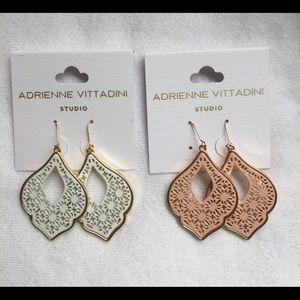 Adrienne Vittadini Studio 2 Pair Boho Earrings